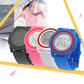 Luxury Brand Women's Fashion Jelly Color Silicone Band Waterproof Wristwatch Sports Digital LED Watches relogio masculino Hot!