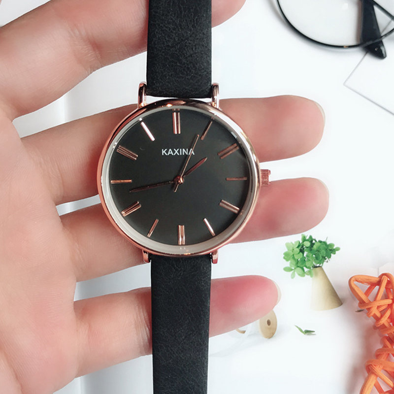 New 2018 Small Dial Women casual wristwatch Ladies Leather Super Thin Quartz Watch female Elegant Simple dress clock hours gift new 2018 luxury brand simple pink dial women casual wristwatch ladies leather quartz watch female elegant dress clock hours