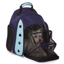 new dog bag pet carrier dog backpack breathable foldable extend outdoor bag for puppy nylon high quality spring honden draagtas
