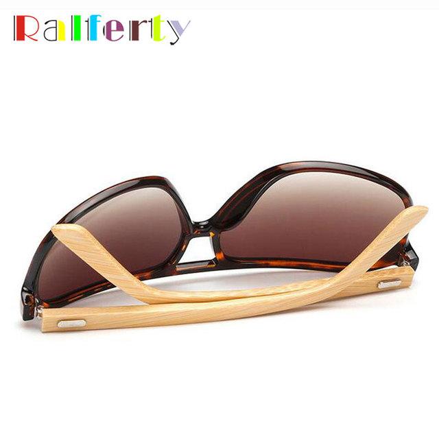 Ralferty Bamboo Sunglasses