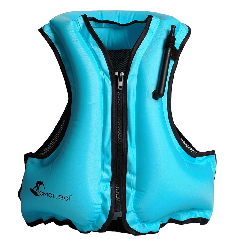 Salvavidas inflable adulto nadar chaleco salvavidas flotando snorkel natación surf deportes acuáticos vida ahorro chaqueta