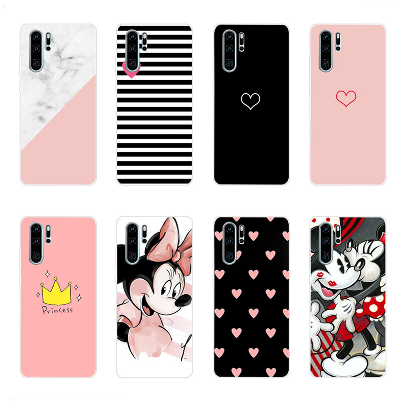 Case For Huawei P30 Pro Phone Case Huawei P30Pro Cover For Huawei P30 Pro VOG-L29 ELE-L29 P 30 Lite Cat Silicone Soft TPU Cover