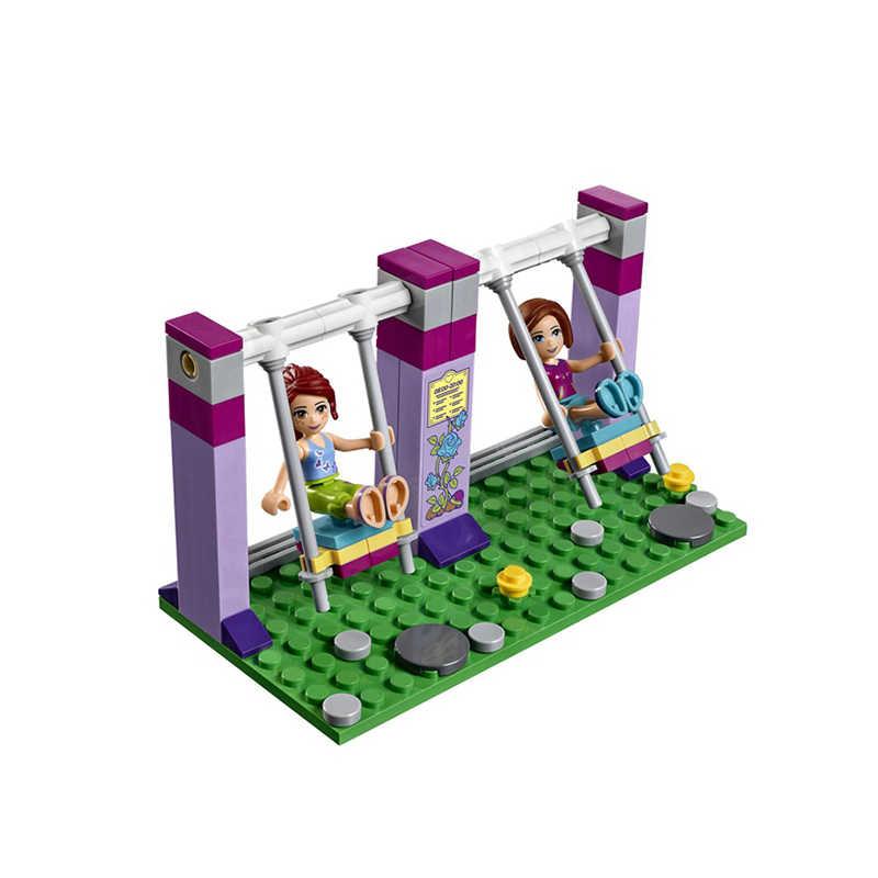 New 332pcs Friends Girl Series Legoings 41325 Model Building Blocks Toys Friends Heartlake Lighthouse Kids Bricks Girl Gift