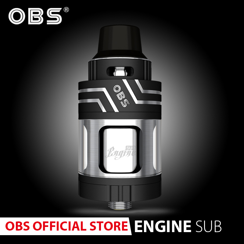 Original OBS Engine Sub  With 5.3ml Tank And 17mm Organic Cotton Coil For Obs  Vape E- Cigarettes Vaporizer