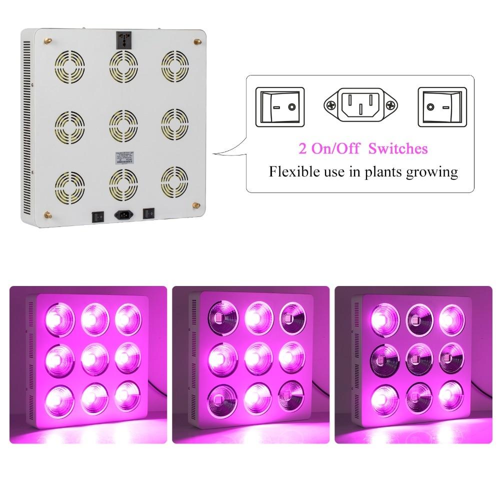 populargrow Professional Factory Neposredna prodaja Najzmogljivejša - Profesionalna razsvetljava - Fotografija 2