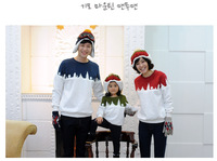 Sale Children Fall Fashion Family Fashions A Family Of Three Cotton Long Sleeved Sweater Wholesale Spot