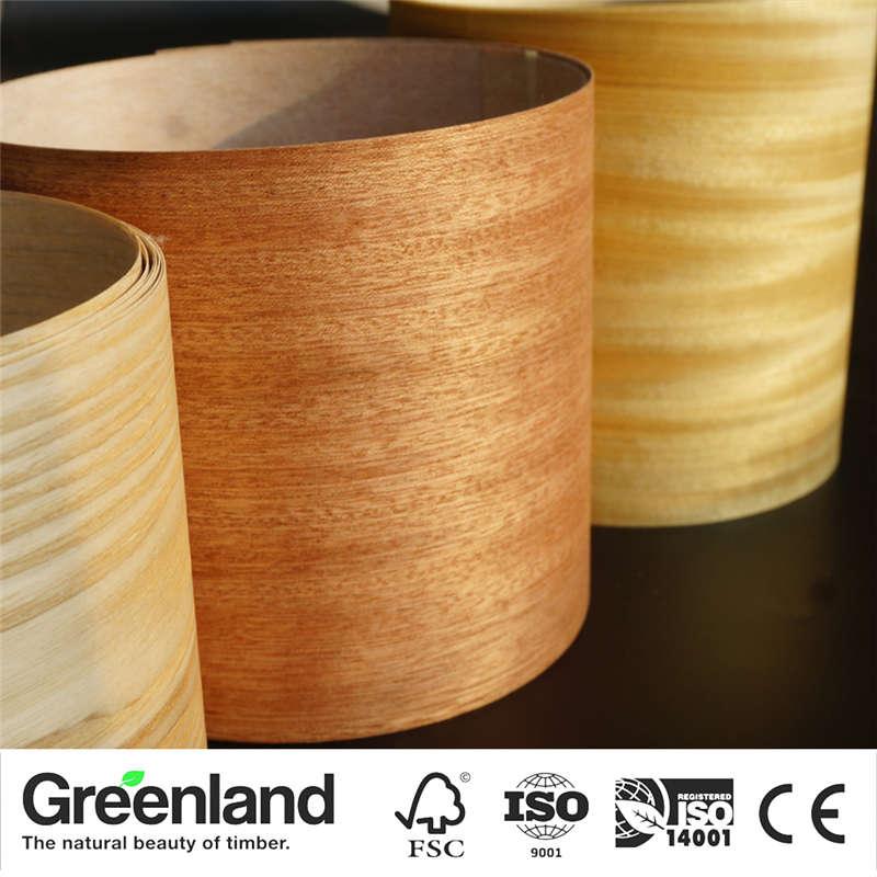 Sapeli(Q.C) Wood Veneers Size 250x20 Cm Table Veneer Flooring DIY Furniture Natural Material Bedroom Chair Table Skin