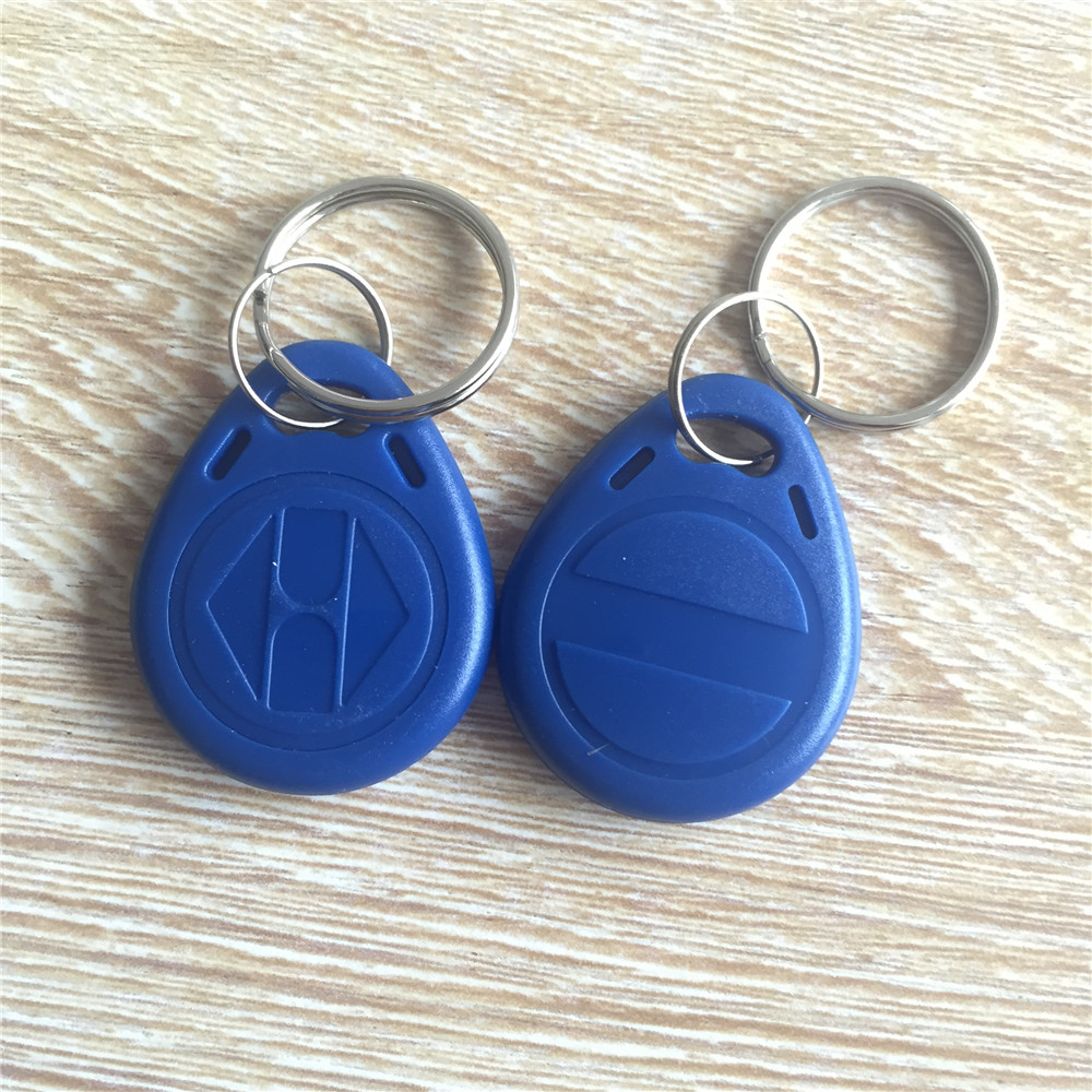 Ic/id Card Rfid 125khz T5577/t5567/t5557 Keyfobs Tags Key Rings Rewritable 10pcs/lot Iot Devices