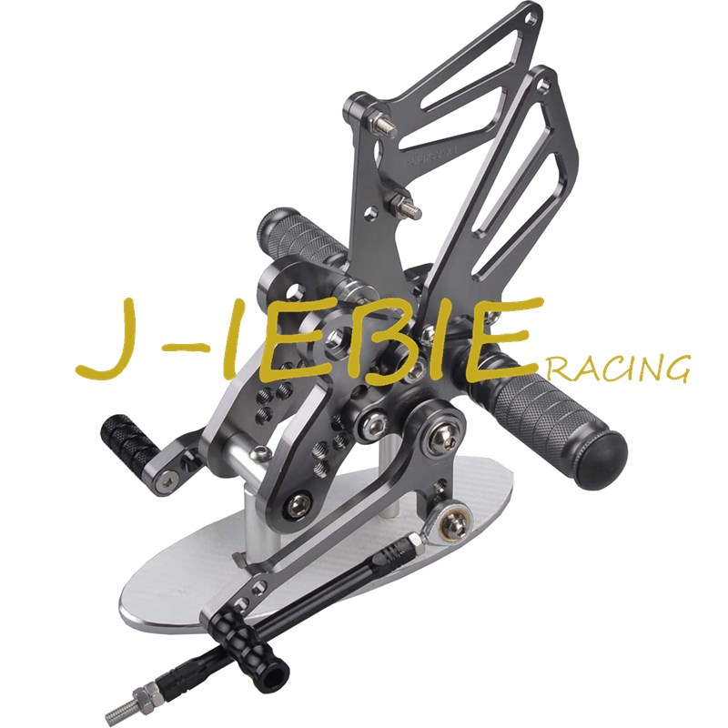 CNC Racing Rearset Adjustable Rear Sets Foot pegs Fit For Suzuki GSXR1300 Hayabusa 1999-2016 TITAINUM titanium cnc aluminum racing adjustable rearset foot pegs rear sets for yamaha mt 07 fz 07 mt07 fz07 2013 2014 2015 2016