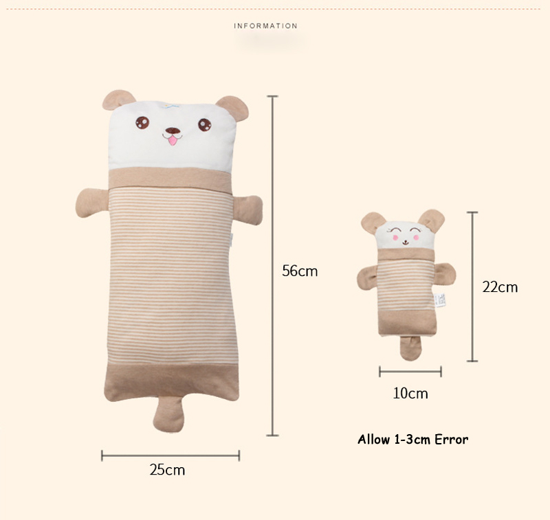 Bbsong Baby Head Protection Plliow Pad Adjustable Newborn Cartoon Animal Head Shoulder Back Pad Cushion Toddler Safety Protector Mother & Kids Pillow