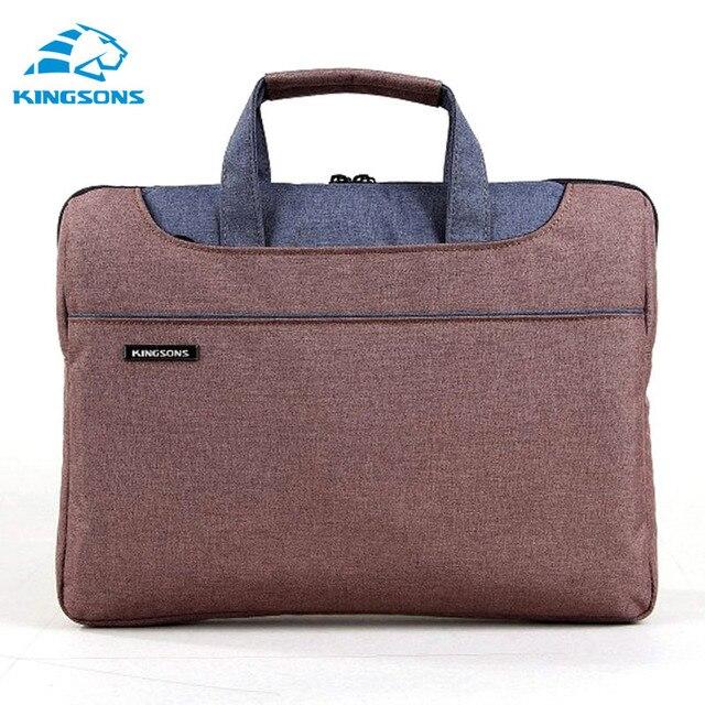 Universal 11.6/13.3/14.1/15.6 inch Computer Laptop Bag Notebook Messenger Air Shoulder Bags for Business Men Women Briefcase