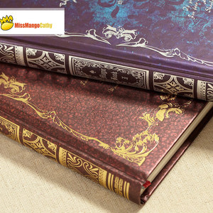 """Image 4 - """"Magic Book"""" Hard Cover Vintage Retro Notebook Journal Diary Freenote Beautiful Stationery Gift"""