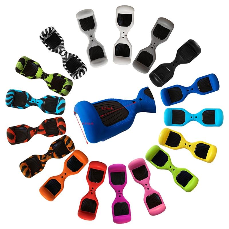 Gummi Wache Schutz für Hoverboard, silikon für 6,5 Zoll 2 Rädern Selbstausgleich Elektroroller Bord
