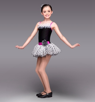 2018 New Girl Dance Ballet Skirt Girls Ballet Tutu Costume Women Stage Proformance Competition Suit Dress+Headwear  B-2456