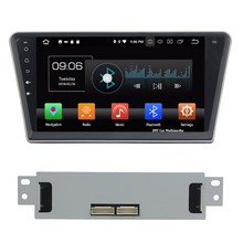 "10.1"" Android 8.0 Octa Core 4GB RAM 32GB ROM Car no DVD Player GPS Navigation stereo multimedia Radio For Peugeot 408 2014-2016"