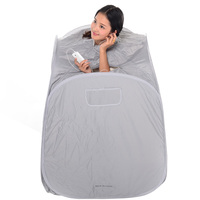 Gray Color Portable Folding Steam Sauna Box Saune Case Body Only Family With Three Steam Sauna