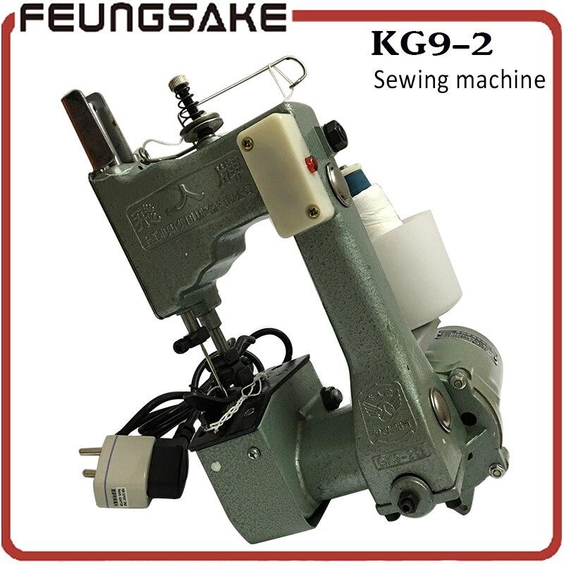 Bag Sewing Machines,Sack Closer,Bag Closer,Portable&Electrical Type,300-gk9-2 220V,50/60Hz 130W, packing machine Flyingman Brand gk9 2
