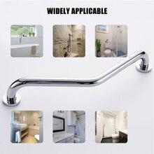 Stainless Steel Chrome Safety Rail Bathroom Tub Toilet Non-slip Handrail Grab Bar Shower Safety Support Handle Towel Rack