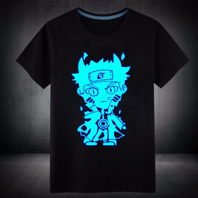 Anime Naruto T-Shirt Fluorescent