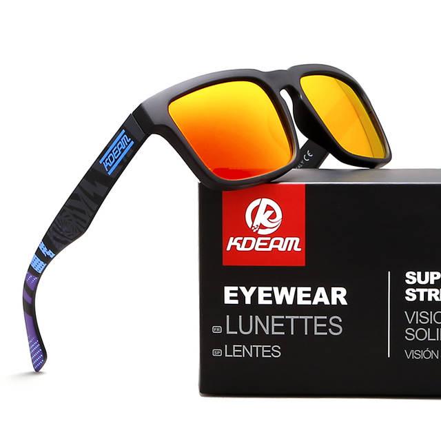 Kdeam Eyewear Reflexivo Revestimento Fashion Square Óculos De Sol Da Marca  Designer Verão Óculos de Sol 62ef5d7e20