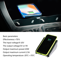 For Mercedes Benz C Class GLC W205 GLC260 car QI wireless phone charging quick charger fast wireless charging car accessories