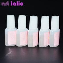 10 г клей для дизайна ногтей с кисточкой блестящий УФ акриловый