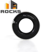 Regulowany makro do nieskończoności adapter obiektywu garnitur dla Leica M obiektywu do Sony E górze NEX kamery