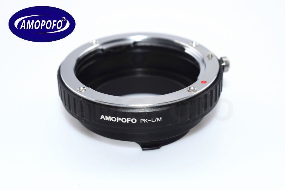 PK LM Adapter For Pentax PK Lens to for Leica M Adapter M9 M8 M7 M6 M5 M4 M220 for TECHART LM EA 7 in Lens Adapter from Consumer Electronics