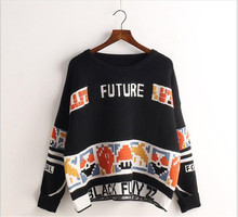 Popular Vintage Letter Sweater-Buy Cheap Vintage Letter Sweater ...
