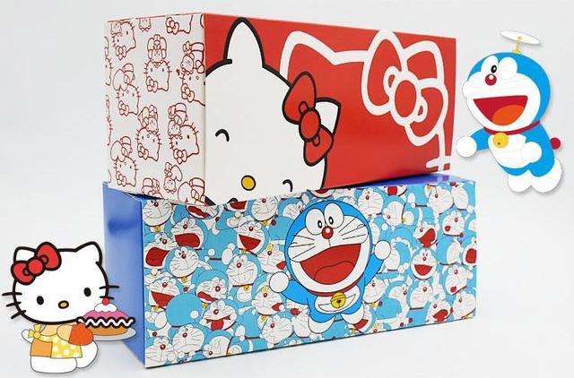 3447e465c854 10pcs lot 27.5 11 10cm Cartoon Jingle Cat Hello Kitty Roll Cake Gift ...