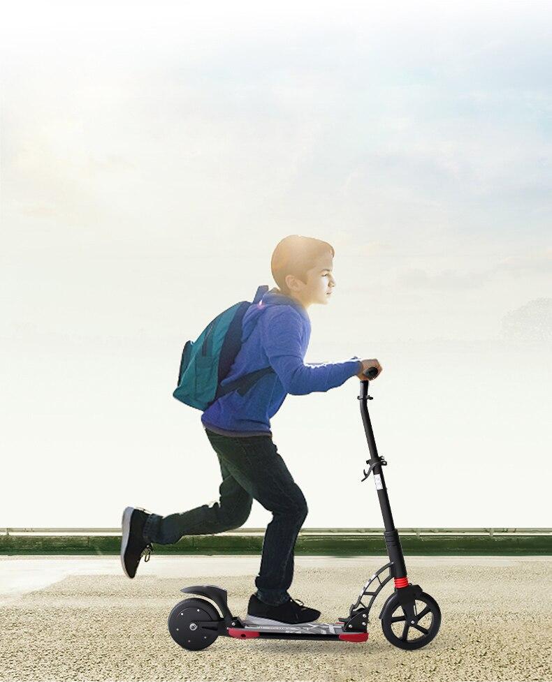 8 pouces iScooter trottinette électrique Intelligent Pliant Électrique longboard Hoverboard Planche À Roulettes 2 Roues Livraison gratuite - 2