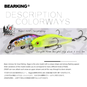 Bearking 9cm 10g hot fishing gear