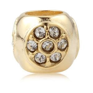 Fits Pandora Original Charm Bracelet Necklace Beads Beauty Of Flowers I Like 925 Silver Hot