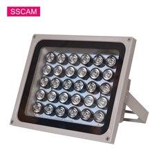 цена на AC 220V CCTV Fill Leds 30Pieces Array IR Led Light Infrared Illuminator Lamp Waterproof Lights for CCTV Camera at Night Time