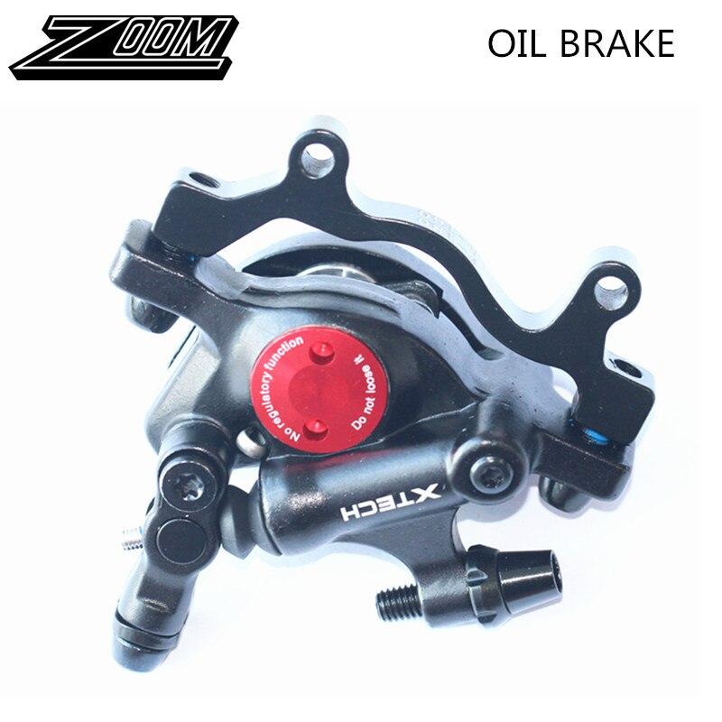 ZOOM Disc Brakes Calipers MTB Road XC Bike Hydraulic Front Rear Mechanical pull