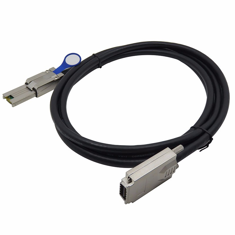 Adapter Cable 6ft for 2m Molex sff-8644 TO sff-8088 External Mini Sas