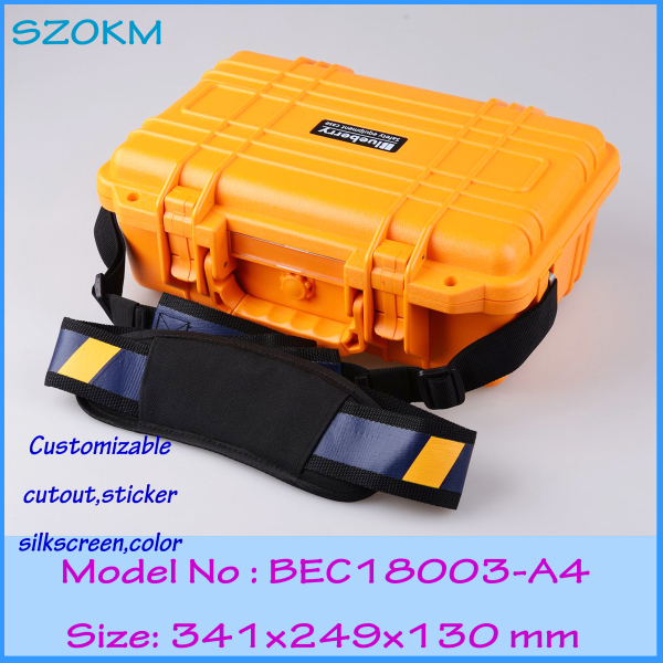 IP68 sealed waterproof tool equipments case abs safety portable box military equipment plastic case for tools