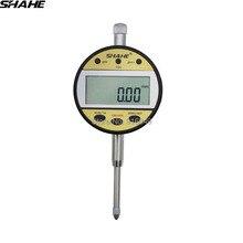 Shahe 0-12,7/0-25,4 мм 0,01 мм цифровой манометр индикатор инструмент цифровой циферблат индикатор измерительный инструмент