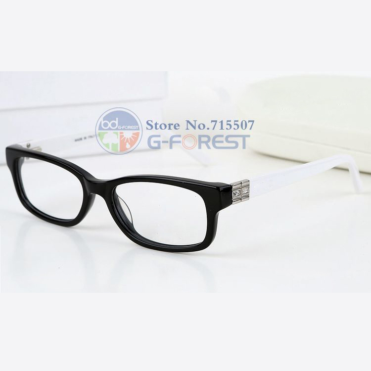 clear glasses 2016 eye glasses frames for women rhinestone eyewear frame high quality optical glasses prescription glasses 6027