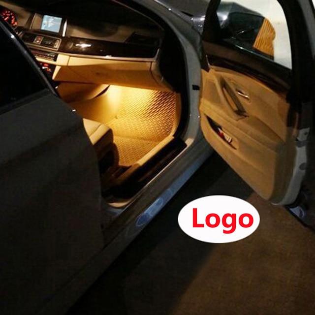 2x LED Special Logo Light door lights courtesy Laser Projector light for Mercedes GL-Class & 2x LED Special Logo Light door lights courtesy Laser Projector ...