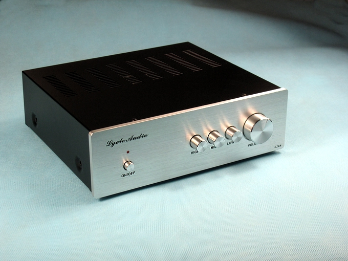 Soundtrack L-80 LM3886 with tone fever HIFI amplifier image