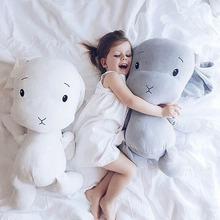30/50CM Cute Stuffed Rabbit Plush Toys Soft Bunny Rabbit Doll Baby Sleep Pillow Cushion Kids Animal Toy Birthday Christmas Gift