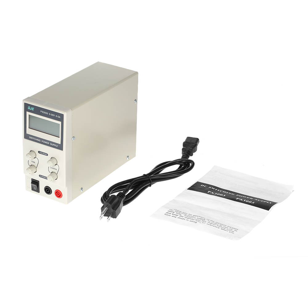 0 30v 5a 3 Digits Voltage Regulator Variable Regulated Dc Power Supply Switching Adjustable Output Current Eu Us Plug In