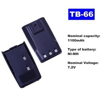 цена на 7.2V 1100mAh NI-MH Radio Battery TB-66 For HYT Walkie Talkie TC-2100H Two Way Radio