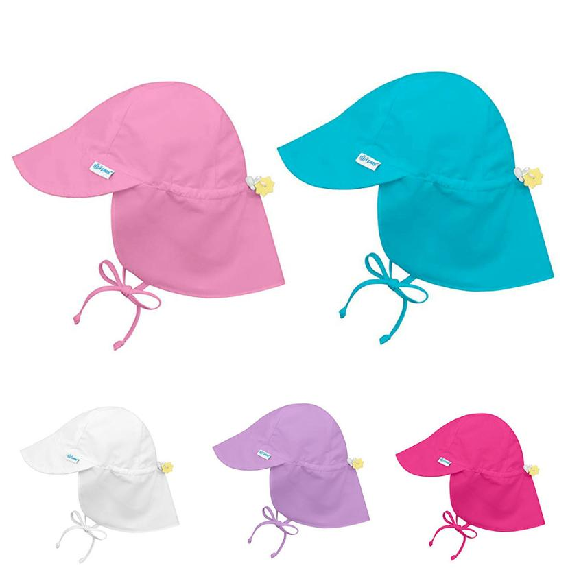 2018 hot sale Baby Boys Girls Sun Protection Swim Hat Children Sunscreen  Hat Outdoors Cap Solid HAT Protection BABY -in Hats   Caps from Mother    Kids on ... f0c91b842971