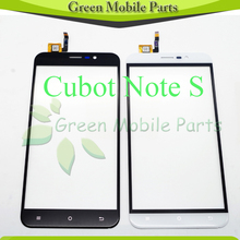 5.5″inch Touch Screen For Cubot Note S Touch Screen Front Glass Digitizer+3M Sticker No LCD