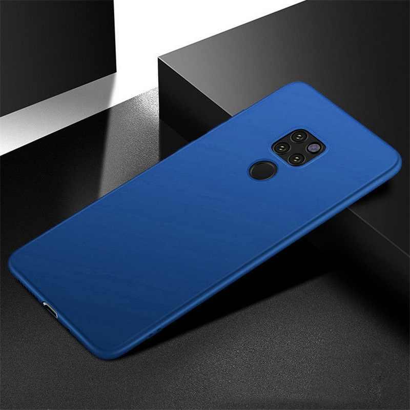 YISHANGOU Ultra Slim Matte Silicon Soft Phone Case For Huawei P30 P20 Pro Mate 20 10 Lite NOVA 4 3 3i Honor 10 8X P Smart Plus