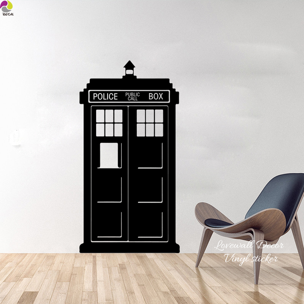 majestic dr who tardis door decal. Tardis Doctor Who Style Wall Sticker Kids Room Baby Nursery TV Decal Living  Police box Call Vinyl Home Decor Art in Stickers from Good Looking Door Design Plan
