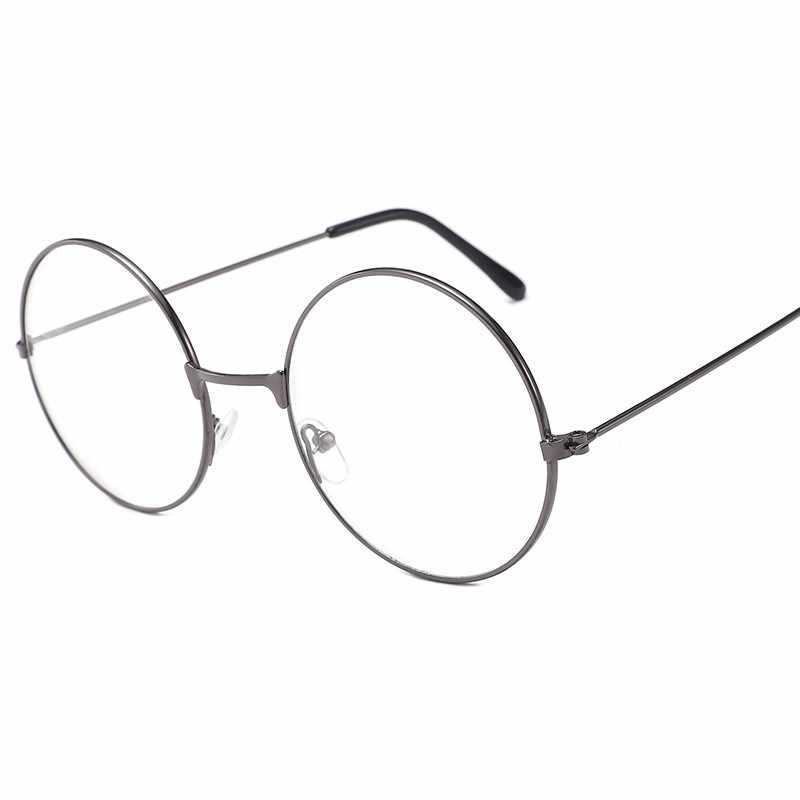 882a9ae668 ... EASTWAY Retro Flat Mirror Metal Frame Eyeglasses Men Round Eye Glasses  Frames For Women Eyewear Frames ...