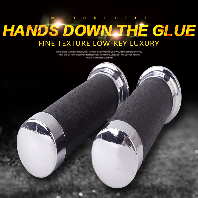 1 Set 7/8 22mm Handle Grip Hand Grips Motorcycle Handlebar Grip Rubber Gel Sleeve for HONDA Magna 250 Magne250 SHADOW 400 750 цена